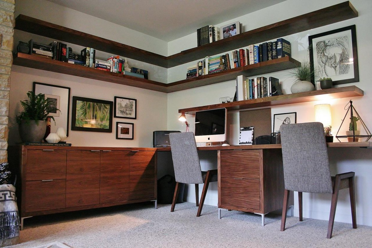 home office – Inspirations  Essential Home - Home Office Ideas Mid-Century Modern