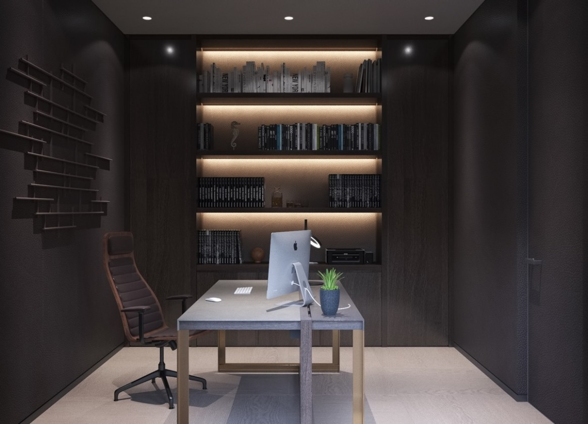home-office-lighting-ideas - Awesome Decors - Home Office Lighting Ideas