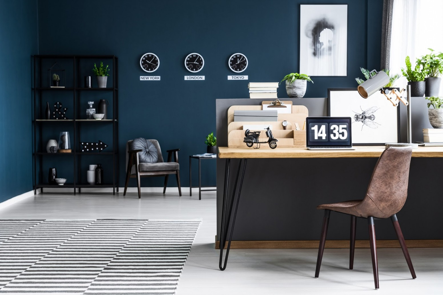Home Office Paint Color Ideas & Inspiration - Ricciardi Brothers - Home Office Ideas Colors