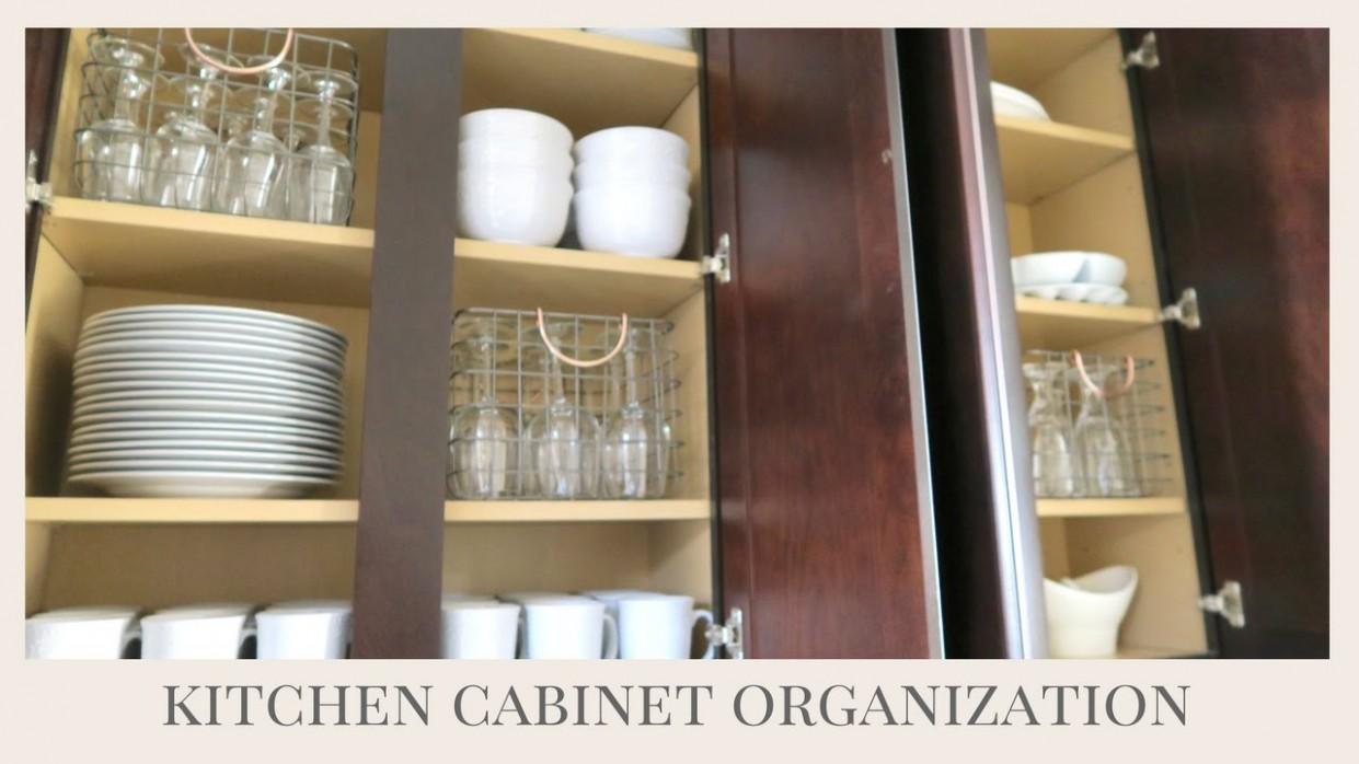 HOME ORGANIZATION TIPS  Kitchen Cabinet Organization - Help Me Organize My Kitchen Cabinets