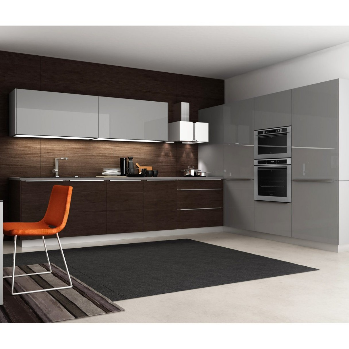 [Hot Item] China Wholesale Home Furniture Kitchen Cabinet Cupboards  Integrated Kitchen Cabinets Design - Integrated Kitchen Cabinets