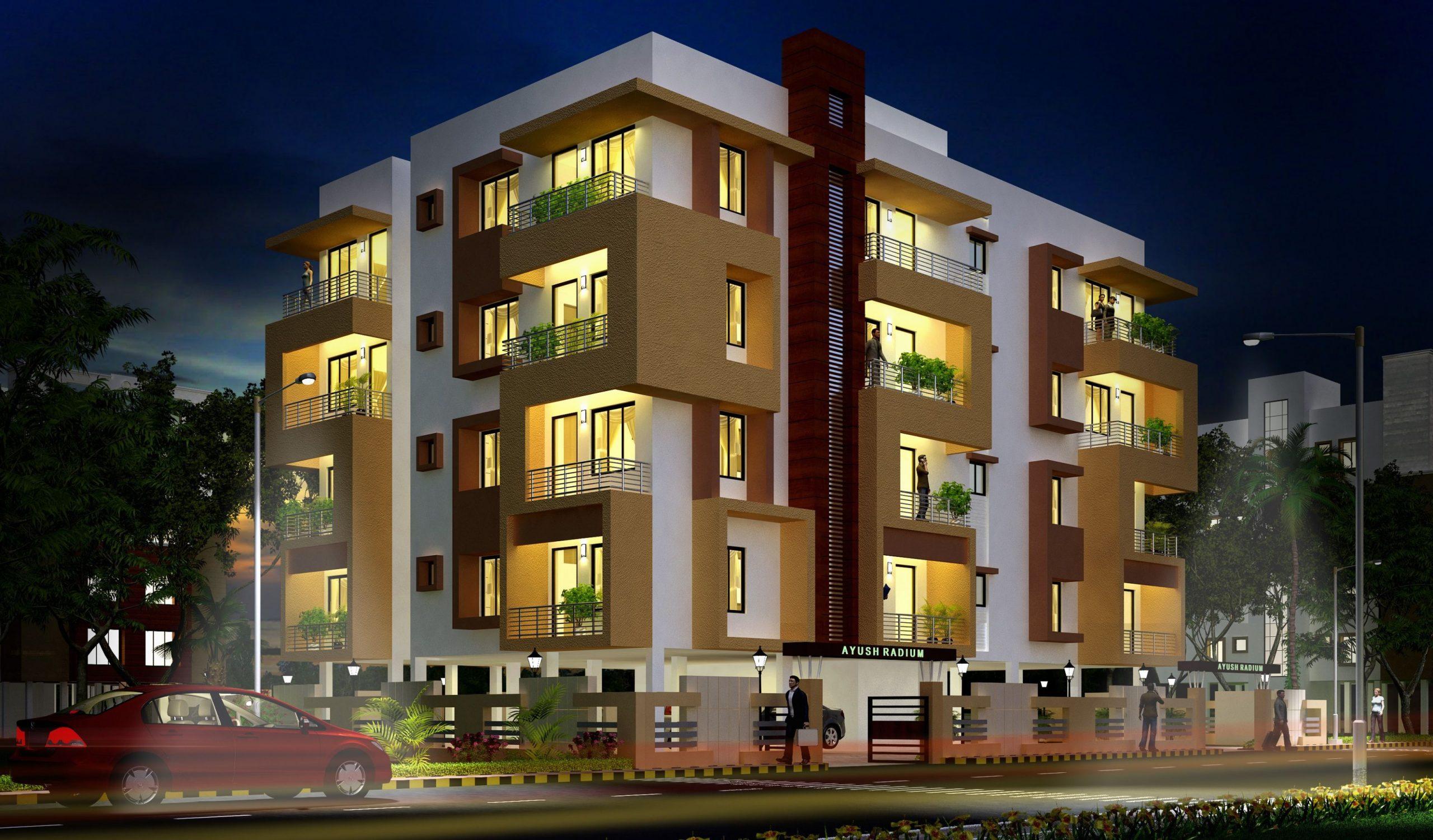 house-apartment-exterior-design-ideas-waplag-awesome-modern_best  - Apartment Exterior Design Ideas