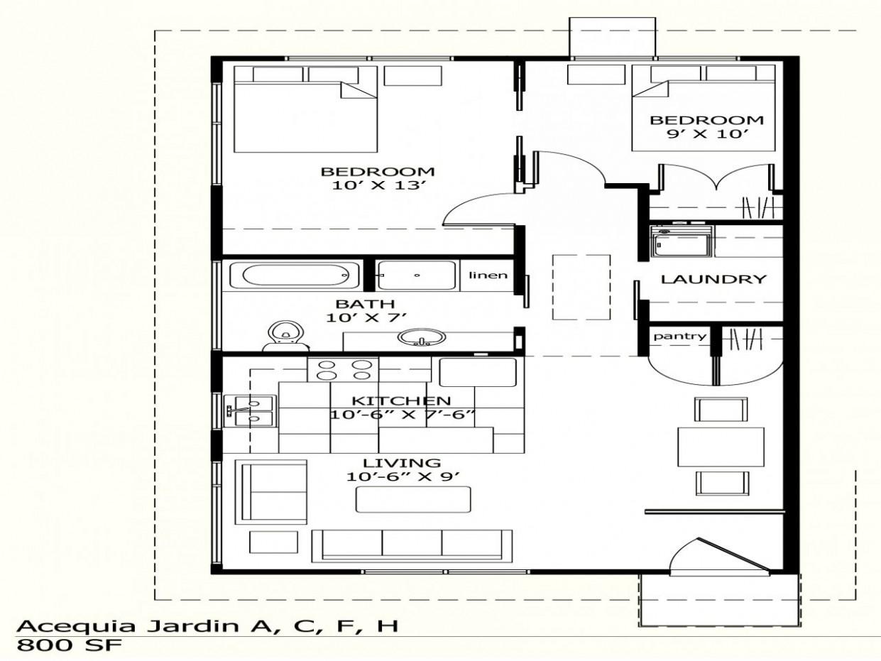House Plans Under 10 Sq Ft Escortsea Square Feet Kerala Modern  - Apartment Design For 800 Sq Ft