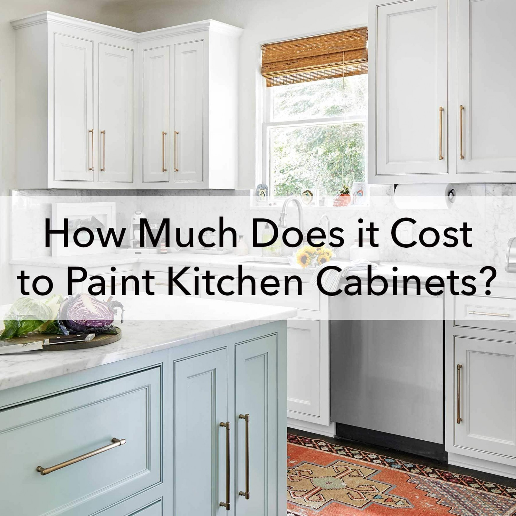 How Much does it Cost to Paint Kitchen Cabinets - Paper Moon Painting - How Much Does Refinishing Kitchen Cabinets Cost