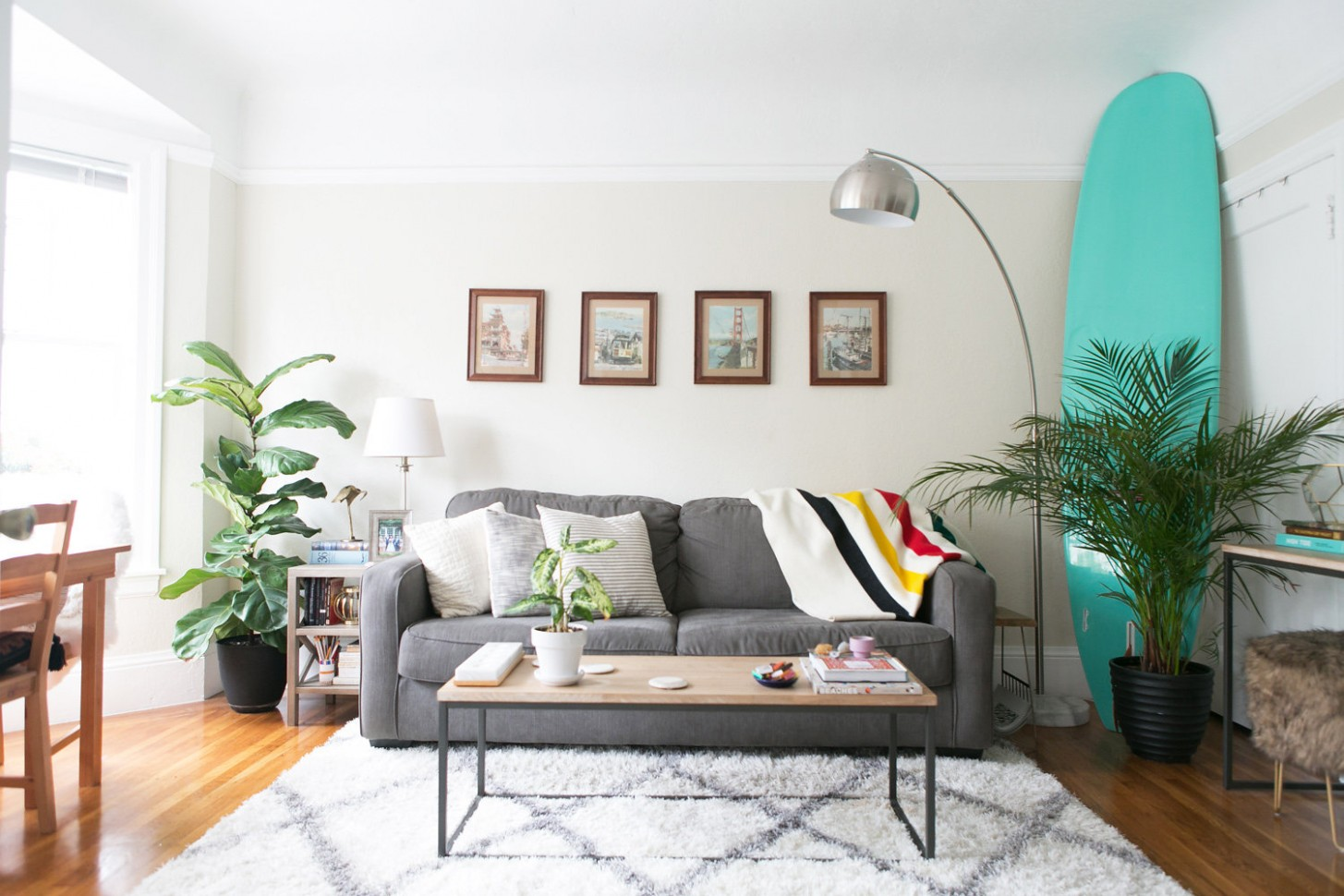 How One Couple Made Their 10-Square-Foot Apartment Feel So Much  - Apartment Design For 800 Sq Ft