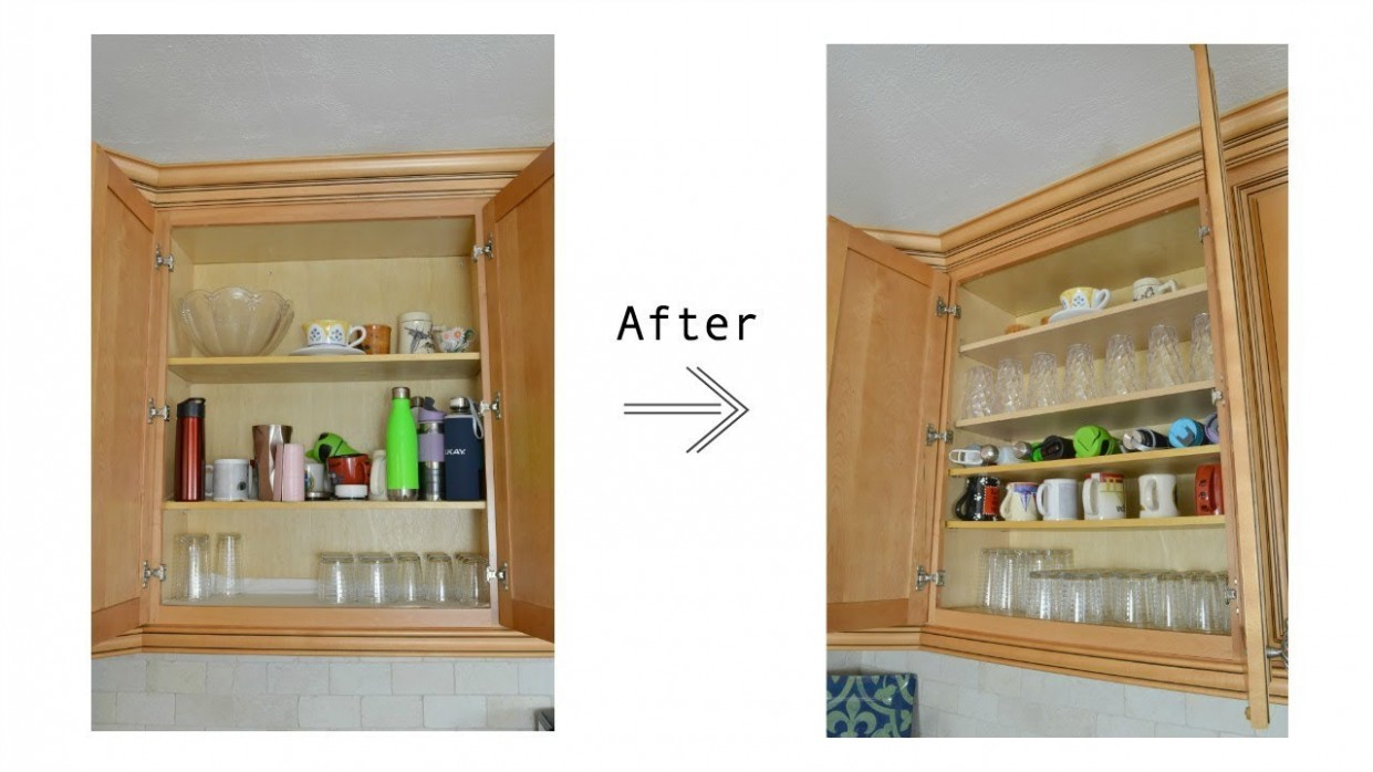 How to Add Shelves to Existing Kitchen Cabinets and Organize Your New  Shelves - How To Remove Kitchen Cabinet Shelf Clips