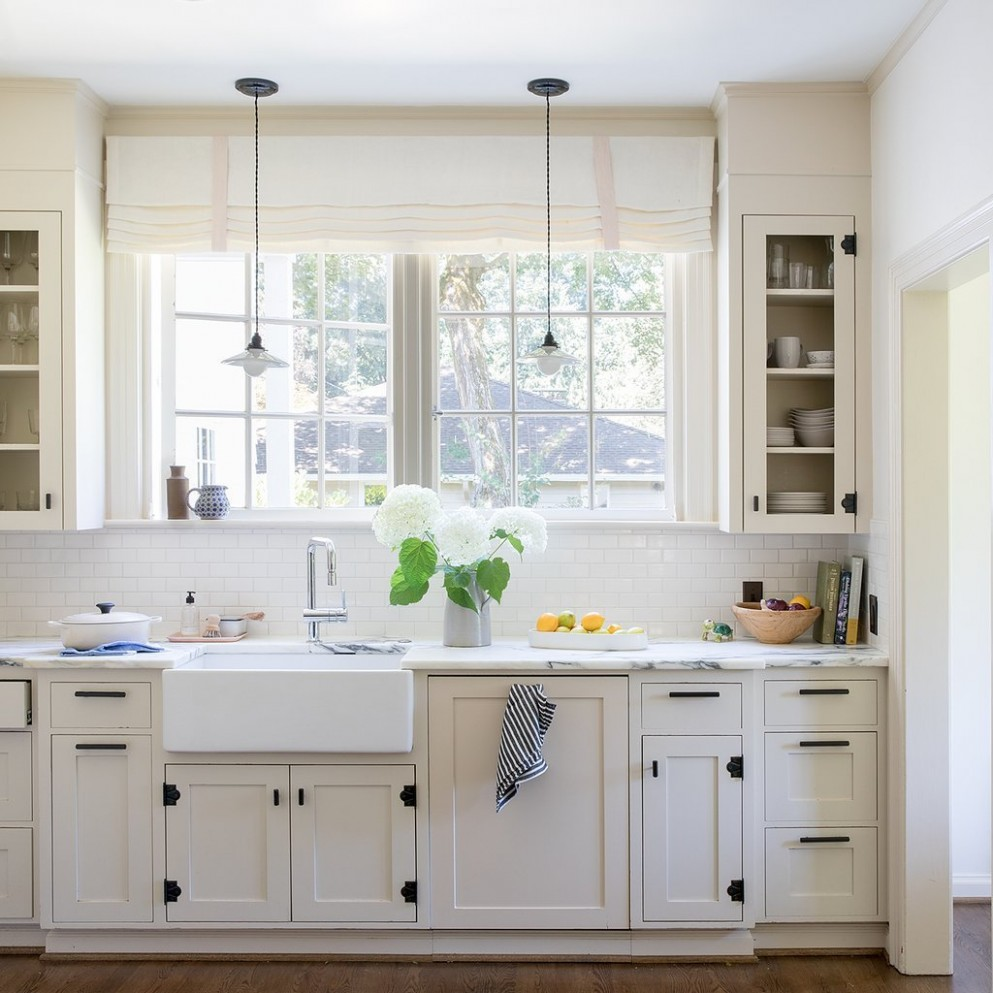 How-to: Choose Cabinet Hardware  Schoolhouse - Long Cabinet Pulls Kitchen