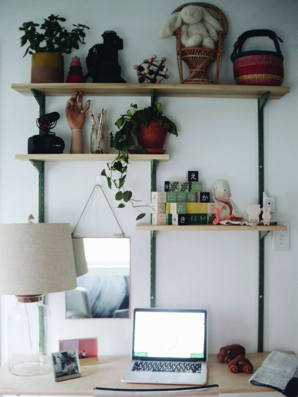 How to Combine a Home Office With a Nursery - Motherly - Baby Room And Office