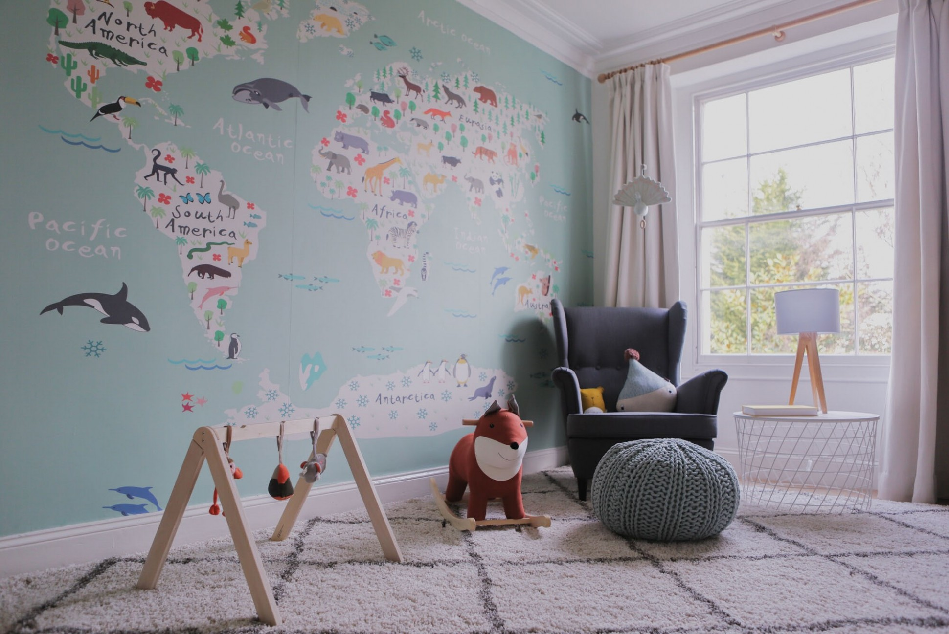How to create a travel-themed nursery - Baby Room Pacific Place