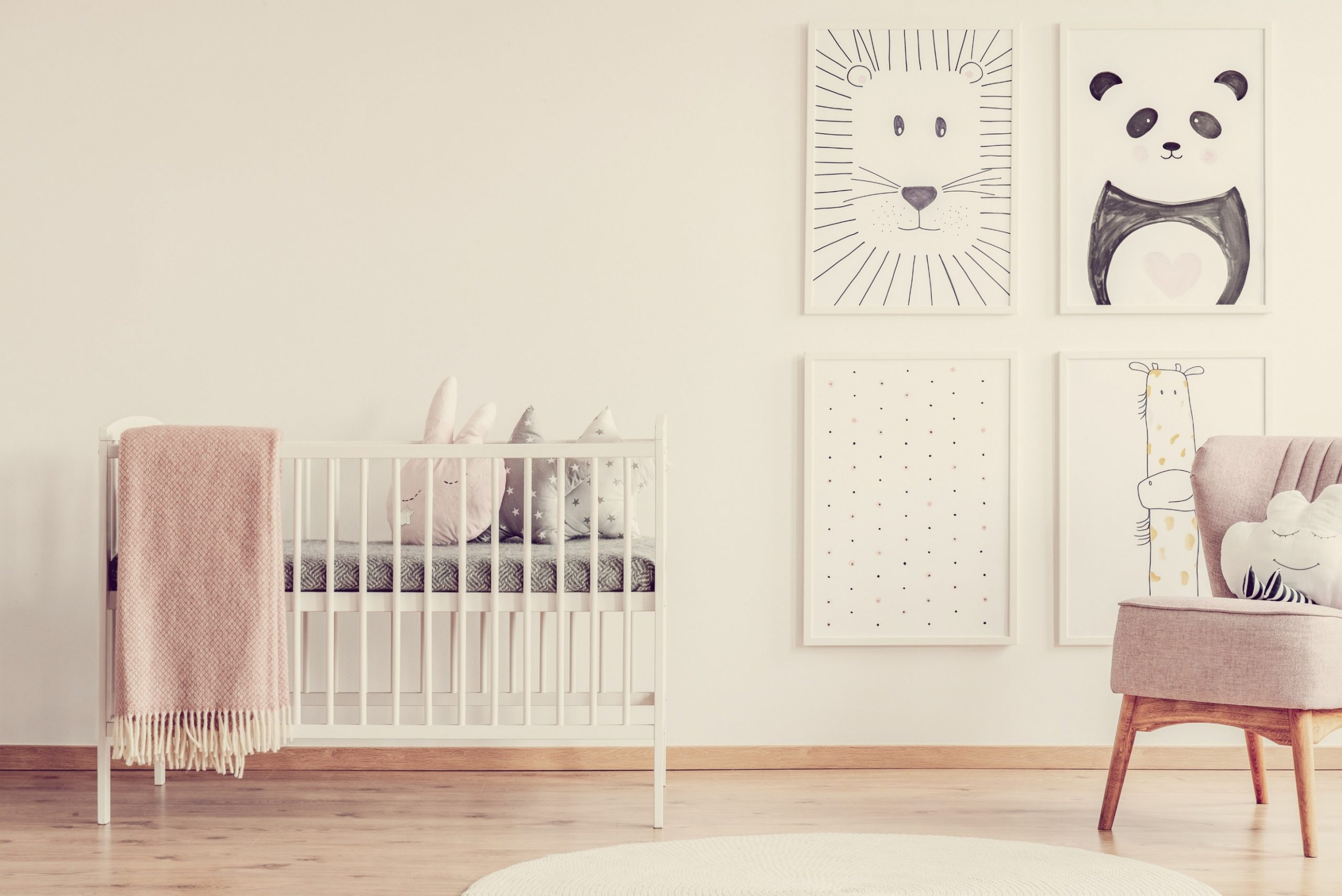 How to Decorate a Baby Room On a Budget - Baby Room On A Budget