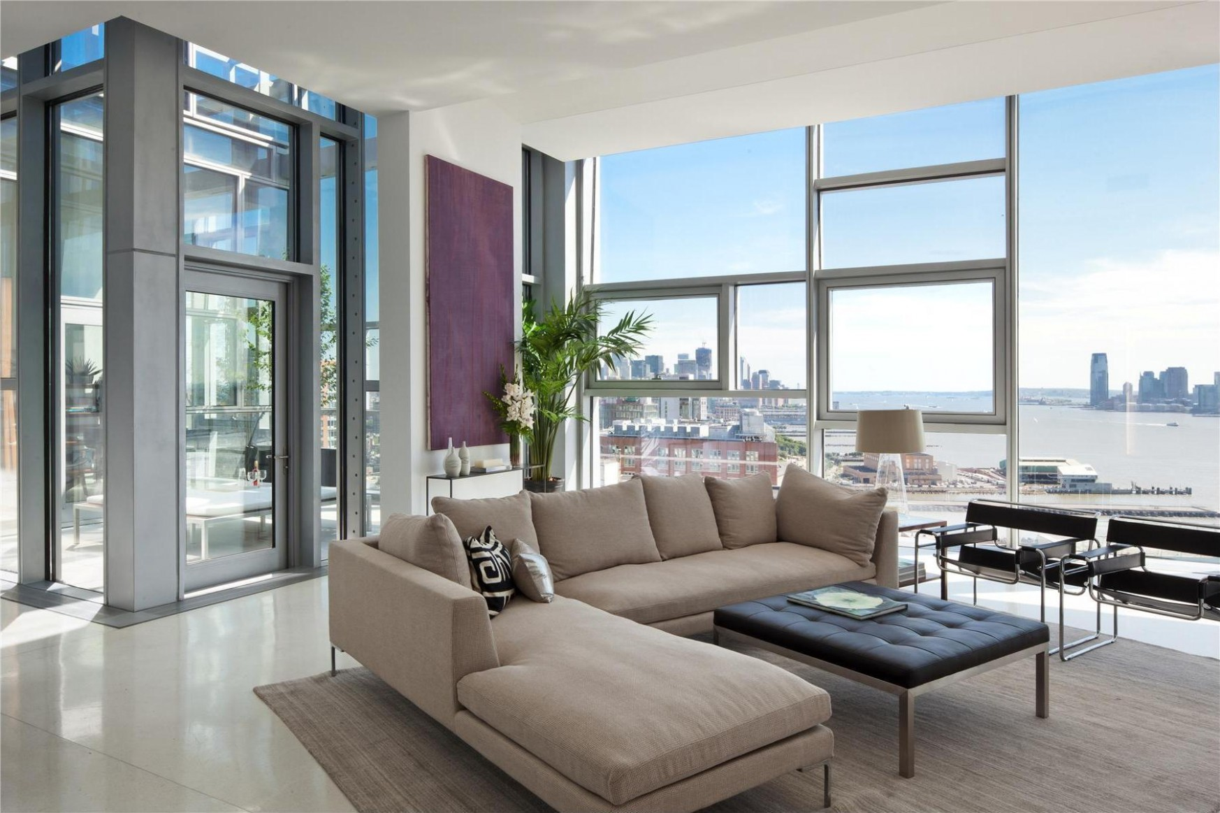 How to decorate a room with floor-to-ceiling windows, tips from a  - Apartment Design Large Windows