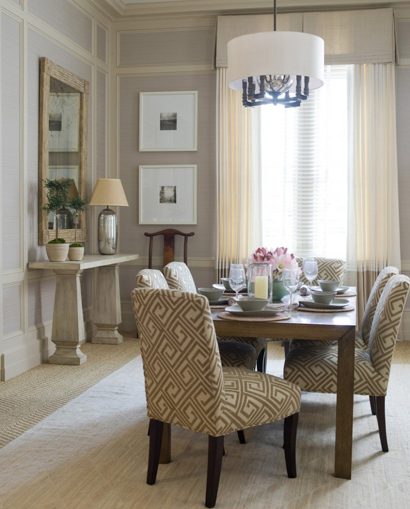 How To Decorate A Small Dining Room With No Windows Ideas Window  - Window Ideas For Dining Room