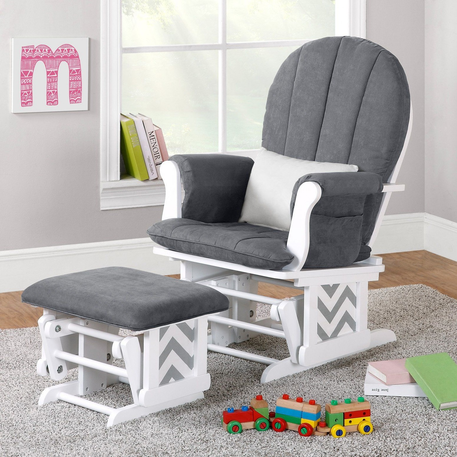 How to decorate babies and moms heaven?  Rocking chair nursery  - Baby Room Rocking Chair