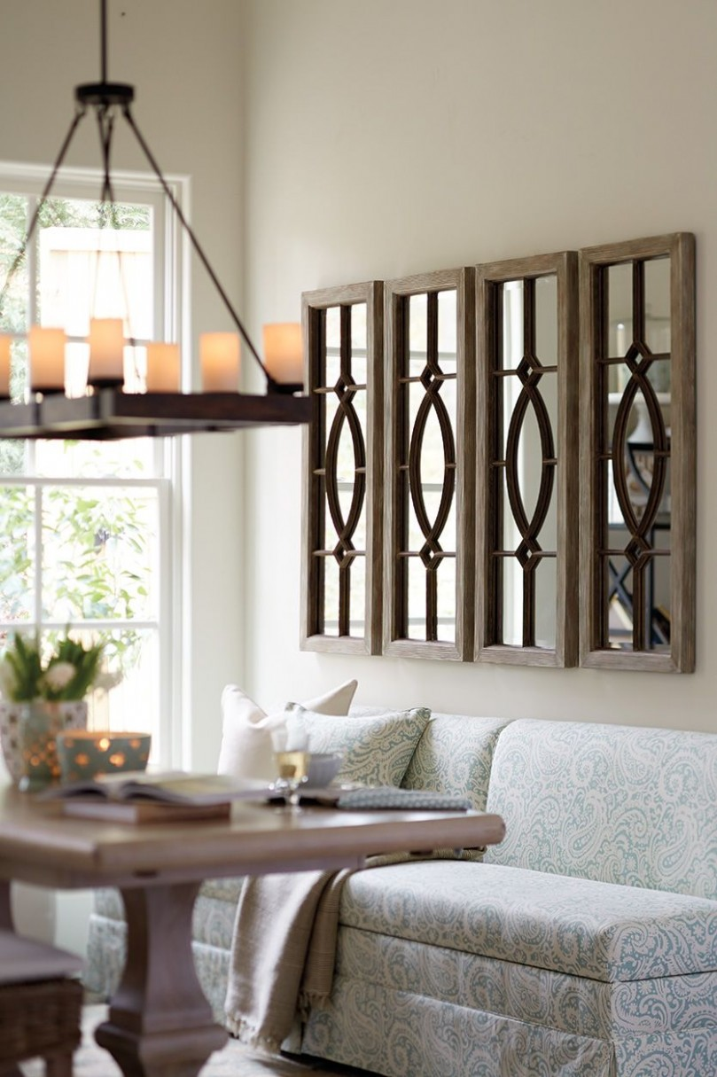 How to decorate with mirrors  Mirror dining room, Living room  - Dining Room Ideas With Mirrors