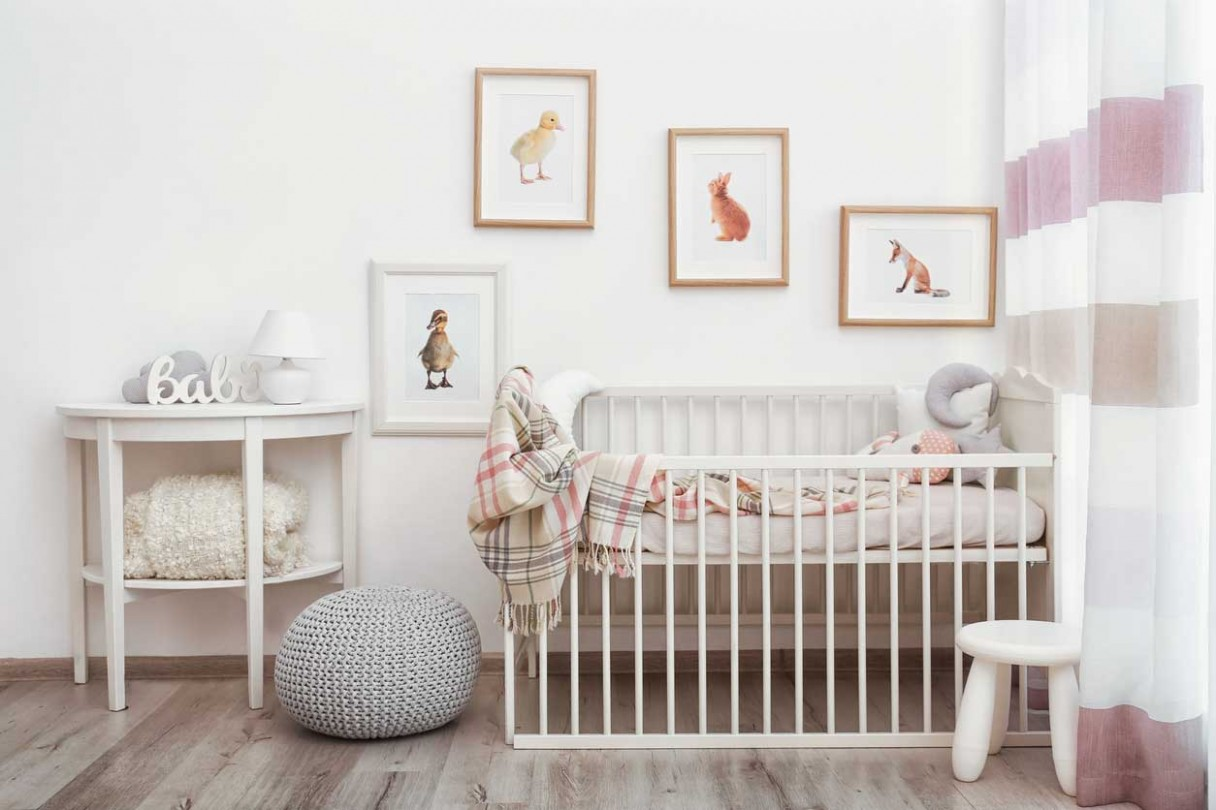 How to Design a Nursery on a Budget - FamilyEducation - Baby Room On A Budget
