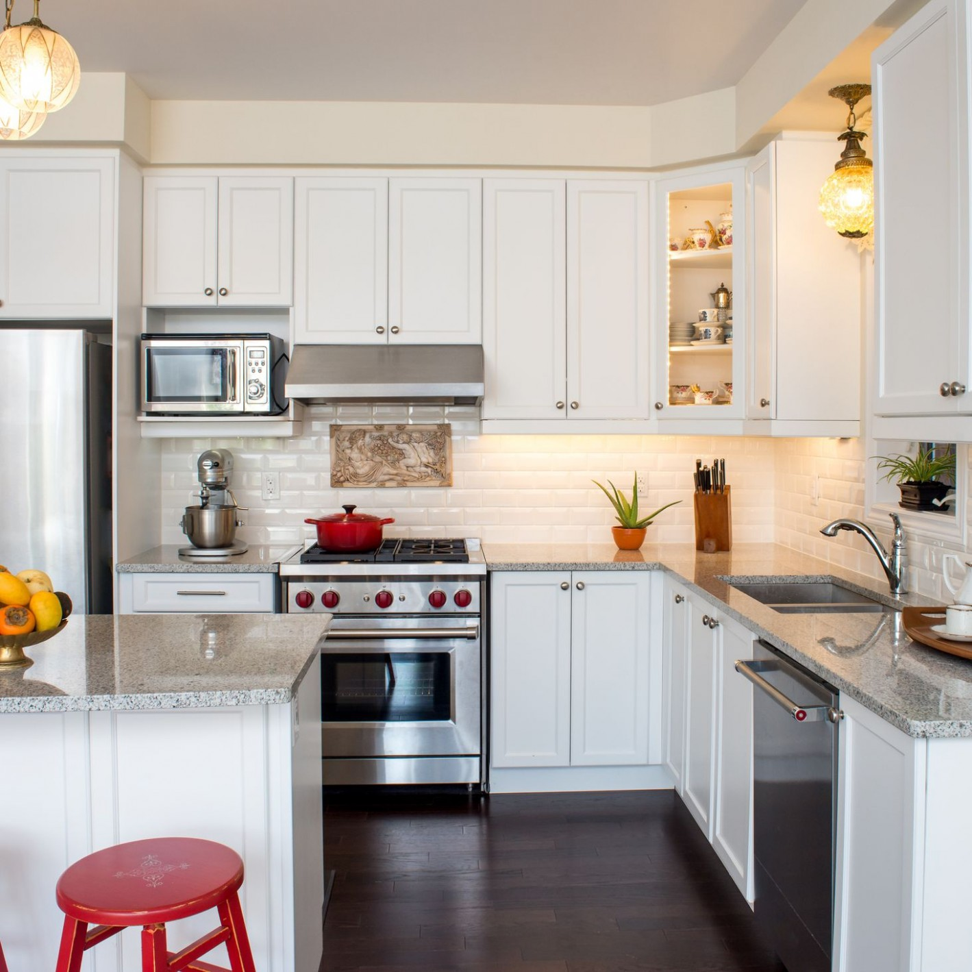 How to Fix Kitchen Cabinet Open Soffits - Shorter Kitchen Base Cabinets