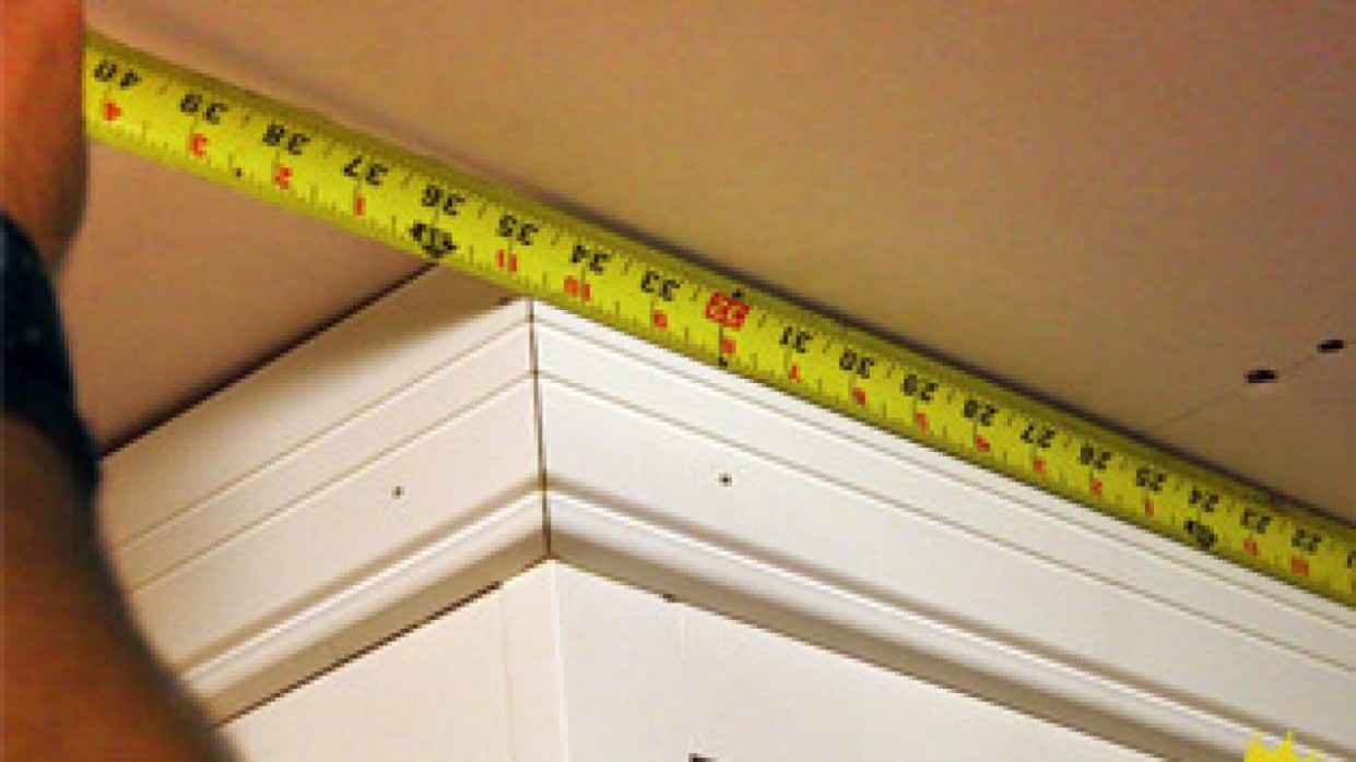 How To Install Crown Molding On Kitchen Cabinets - Simple Crown Molding On Kitchen Cabinets