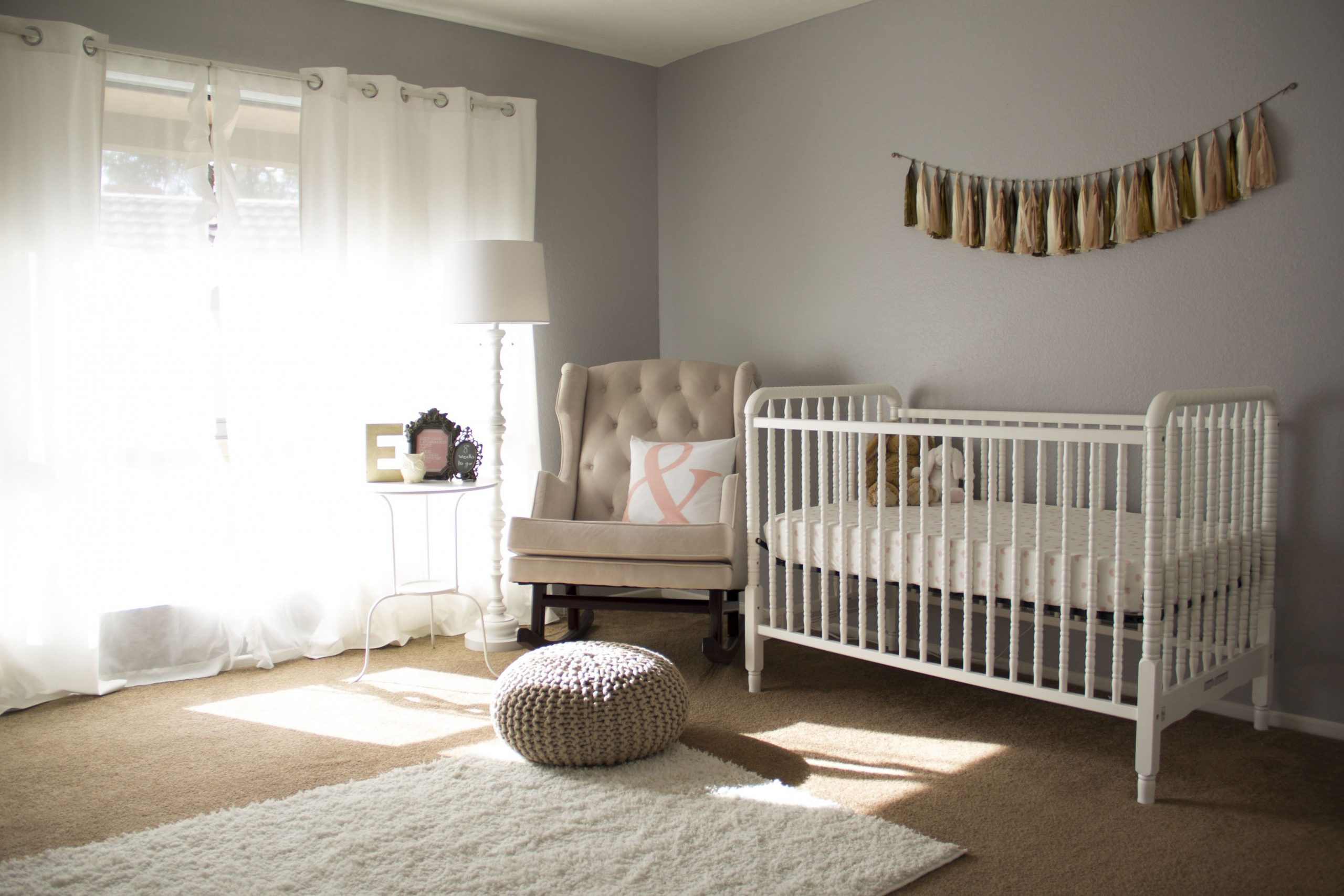 How to Layer a Rug on Top of Carpet in Your Nursery - Baby Room Rugs