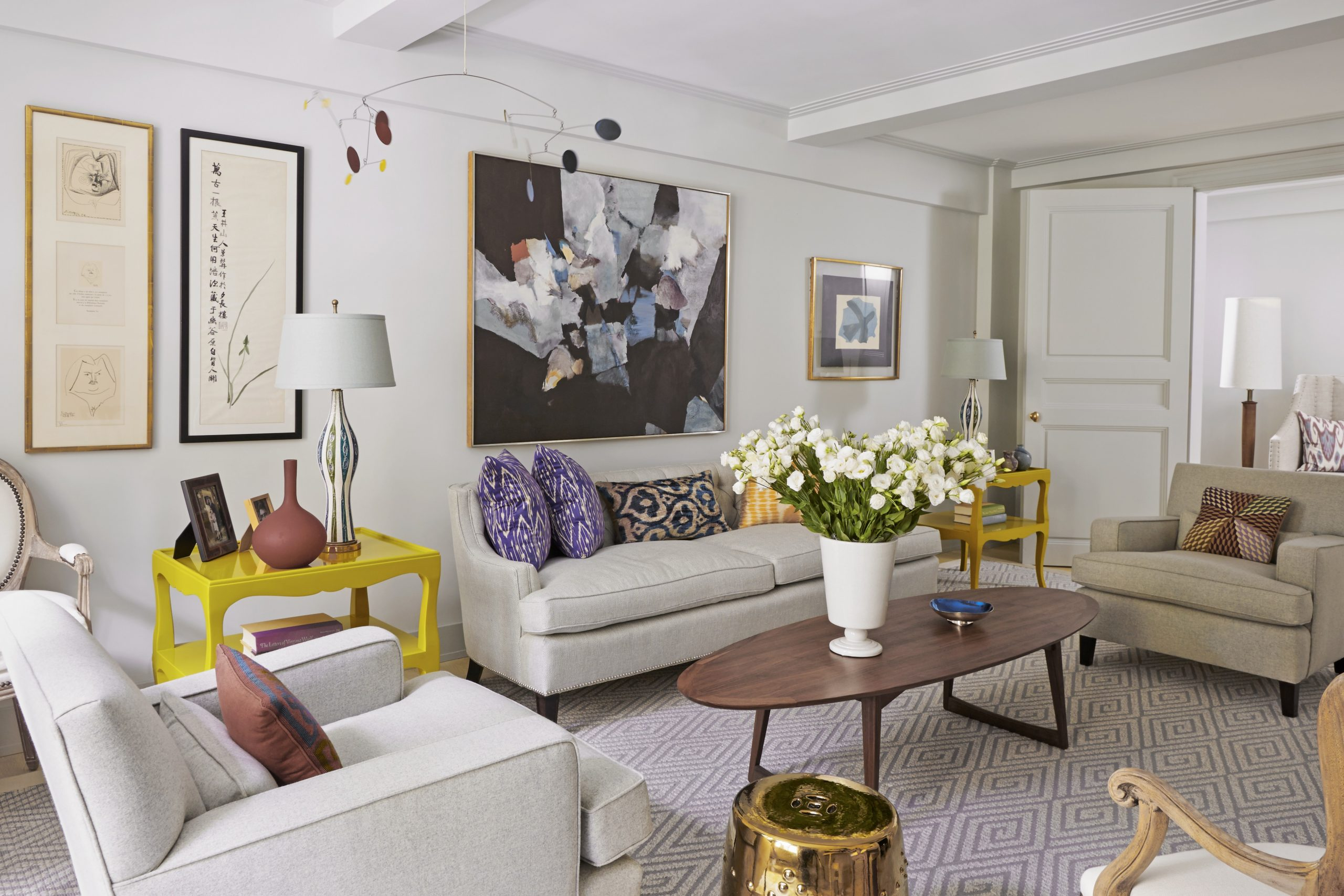 How to Light a Room with Low Ceilings  Martha Stewart - Dining Room Lighting Ideas Low Ceilings