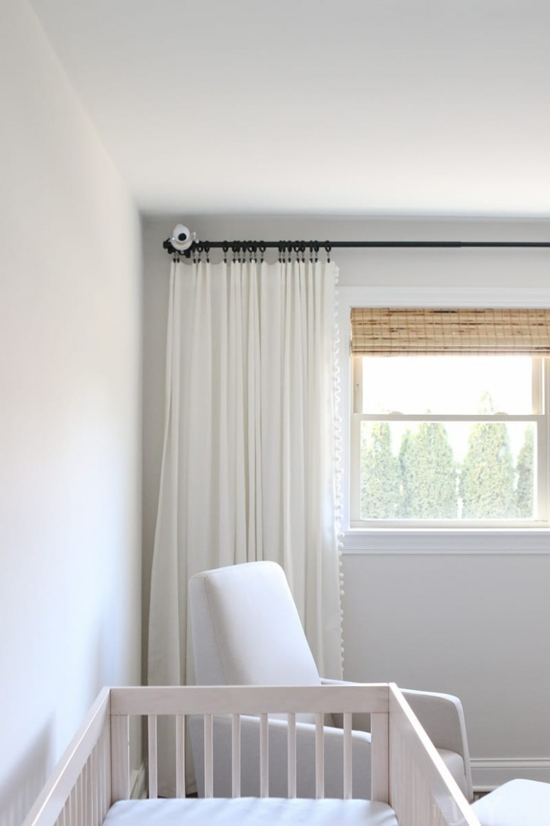 How to Mount a Baby Monitor and Hide the Cords  The DIY Playbook - Baby Room Monitor