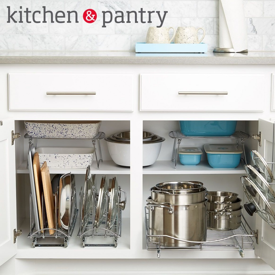 How To: Organize Your Lower Kitchen Cabinets