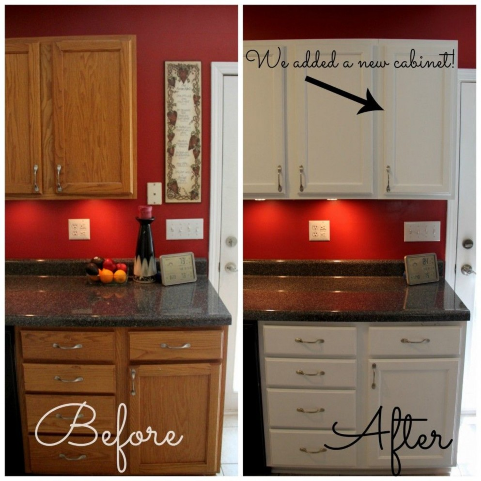 How To Paint Cabinets  Painting kitchen cabinets, Kitchen remodel  - Red Kitchen Walls With Dark Cabinets