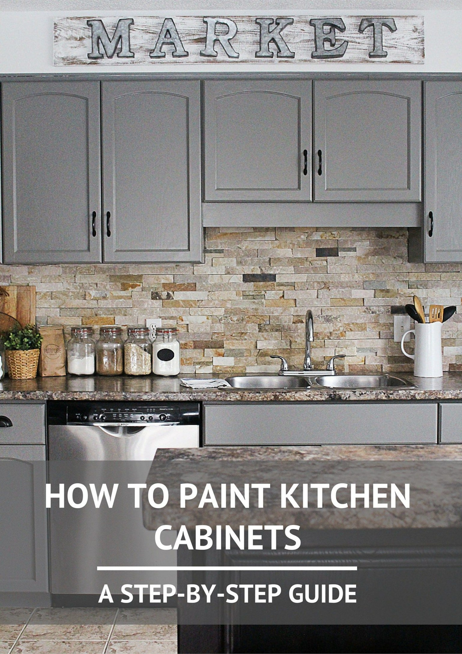How to Paint Kitchen Cabinets- A Step-by-Step Guide 10  Painting  - Ideas For Painting Kitchen Cabinets And Walls