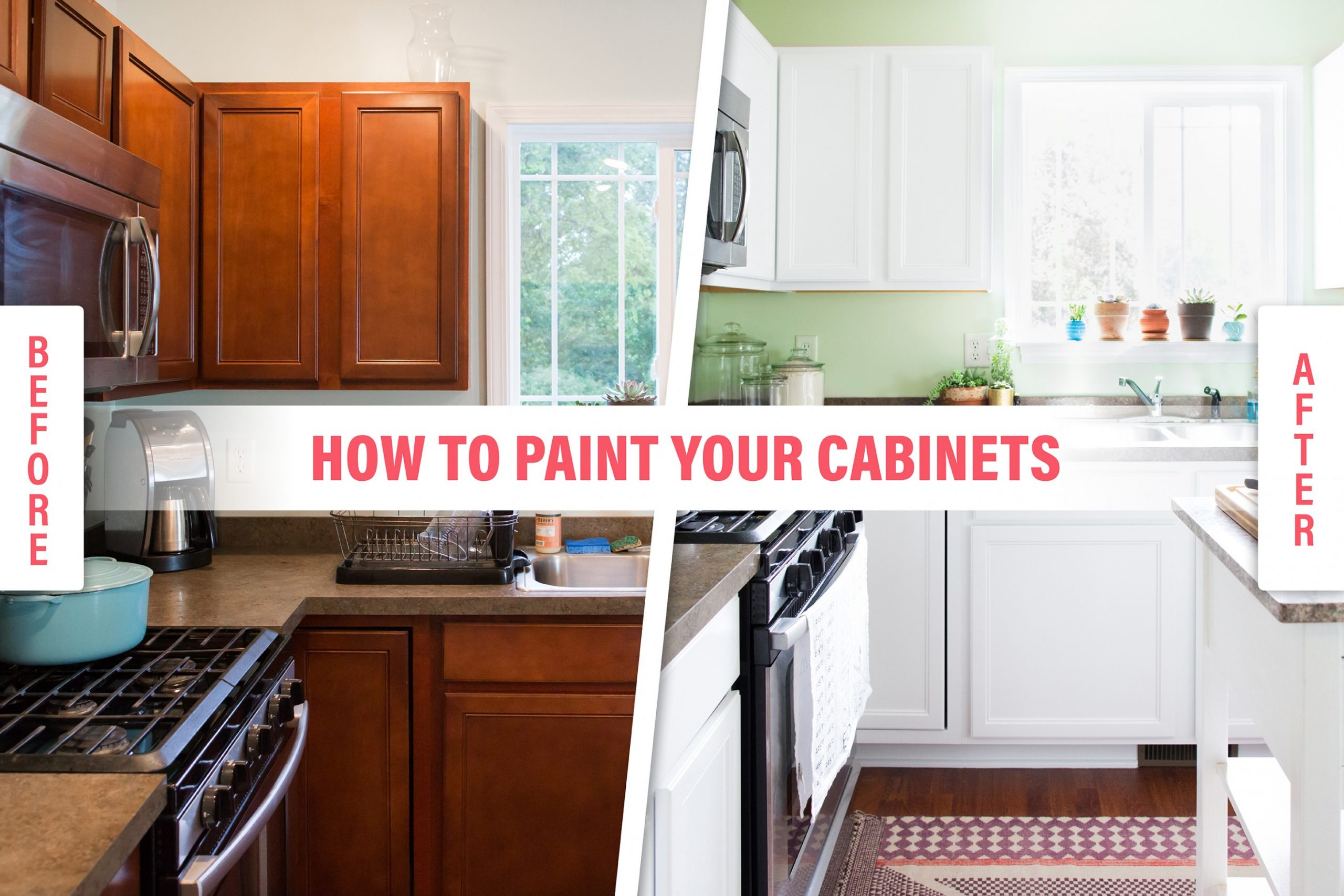 How To Paint Wood Kitchen Cabinets with White Paint  Kitchn - Is It Possible To Paint Kitchen Cabinets