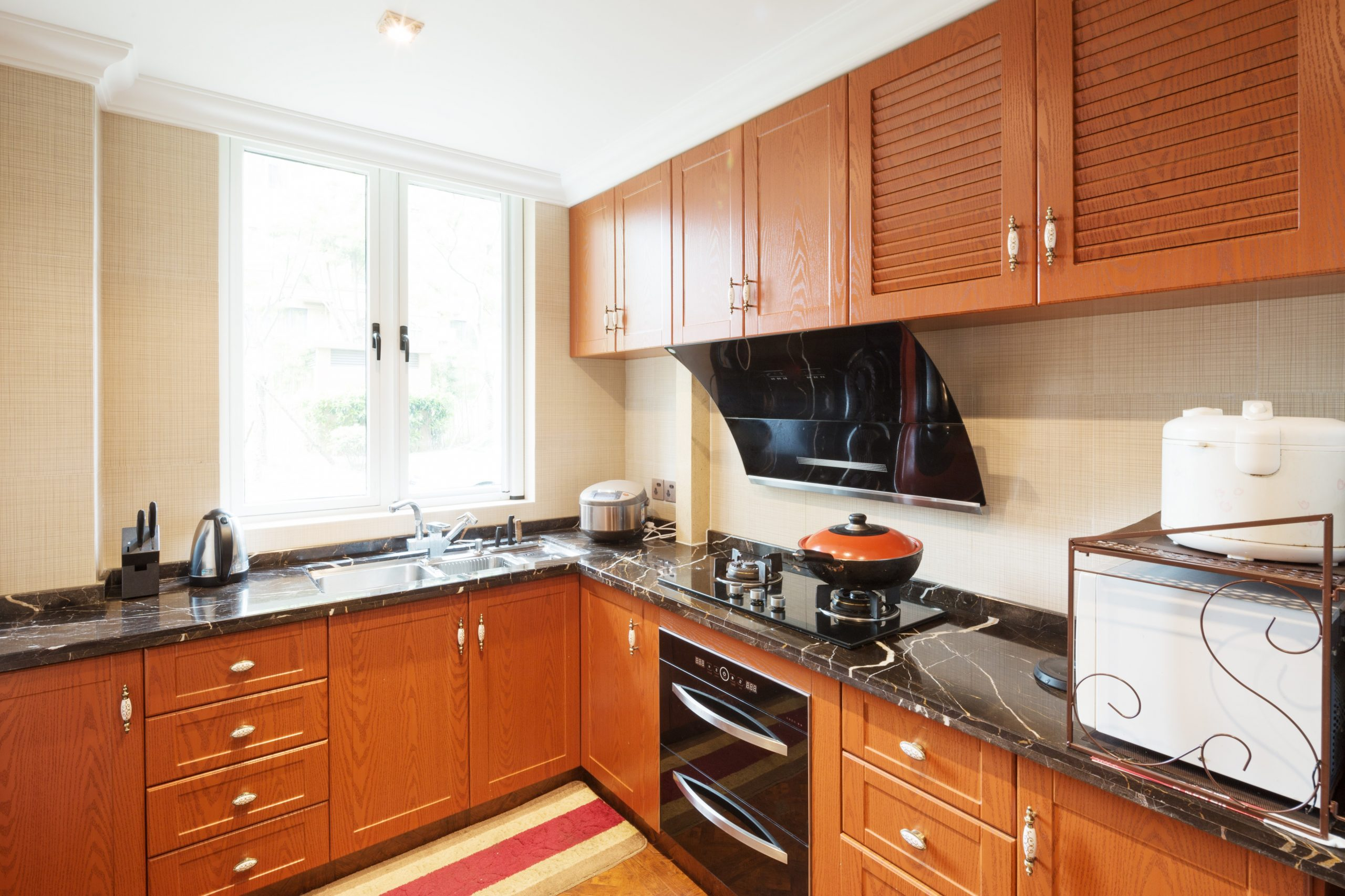How to Redo a Fake Wood Cabinet Surface  Home Guides  SF Gate - Pressed Wood Kitchen Cabinets
