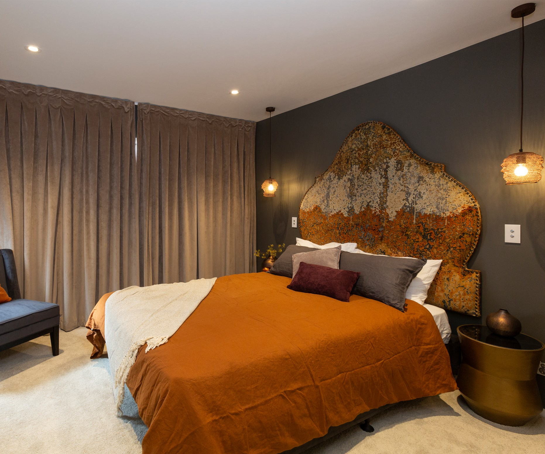 How to shop the looks from The Block NZ master bedroom and ensuites - Bedroom Ideas Nz