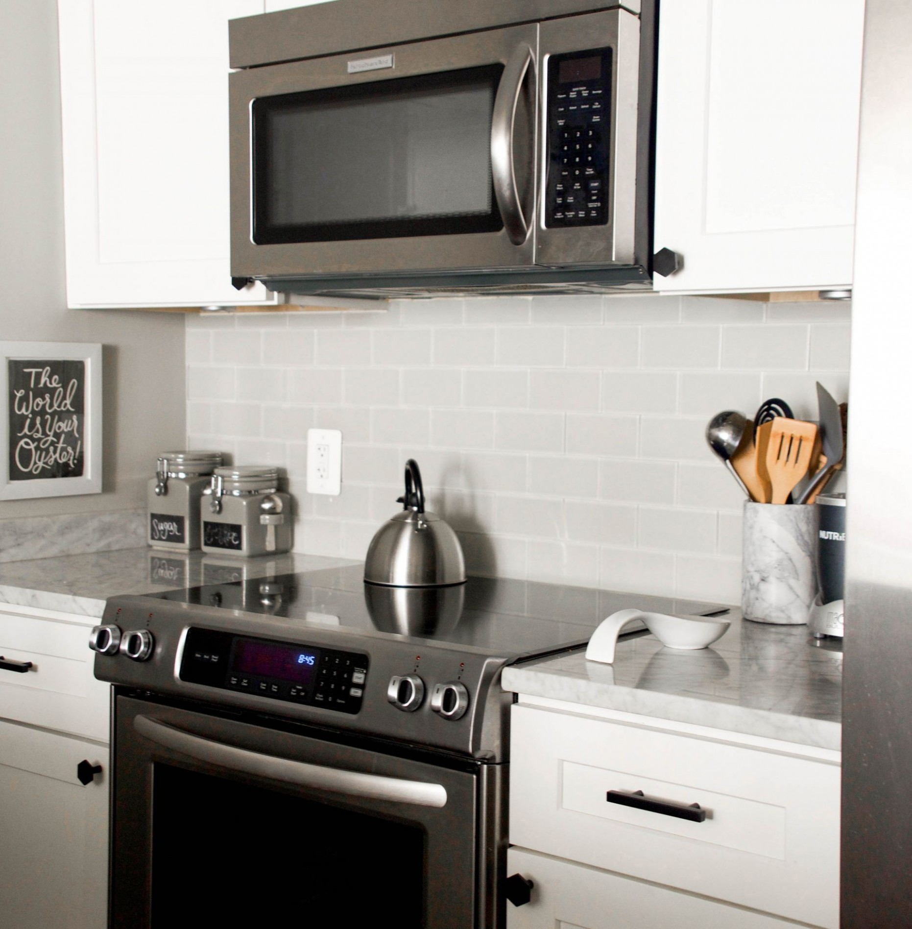 How to Update Black Kitchen Cabinet Hardware and the Vigo Edison  - Matte Black Kitchen Cabinet Hardware