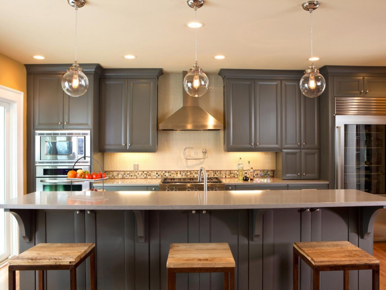 Ideas for Painting Kitchen Cabinets + Pictures From HGTV  HGTV - Is It Possible To Paint Kitchen Cabinets