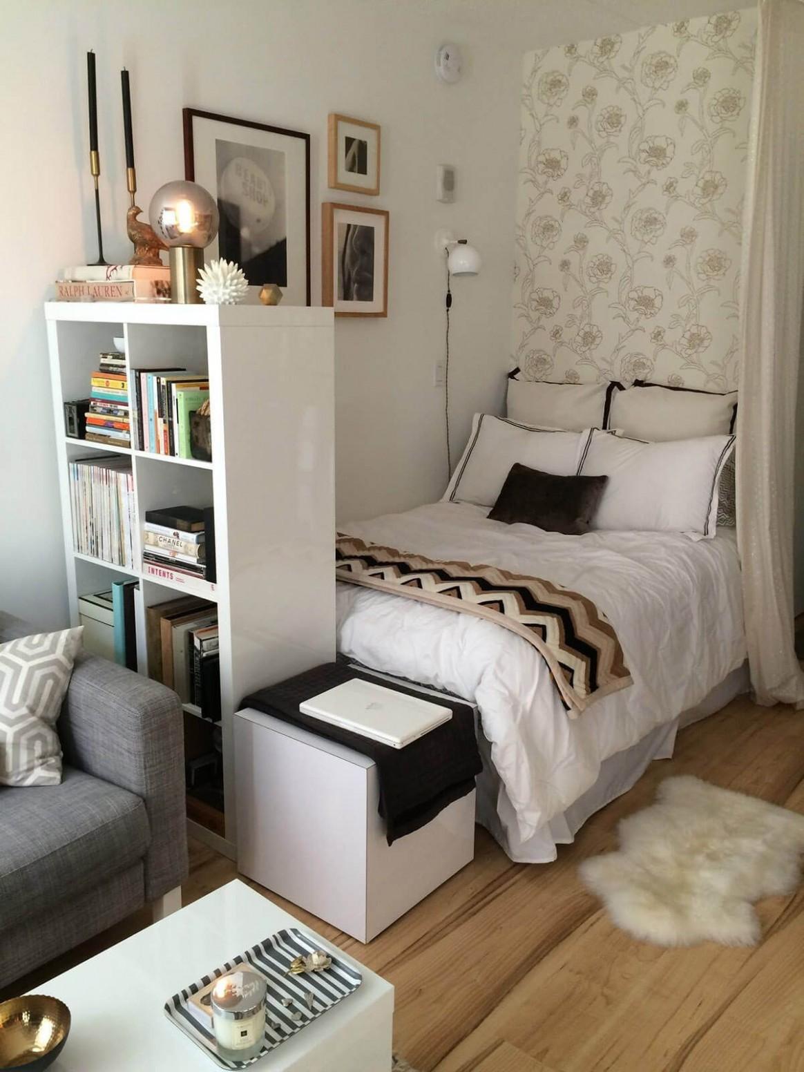 Ideas para Ahorrar Espacio en Habitaciones Pequeñas  Apartment  - Bedroom Ideas For Small Rooms