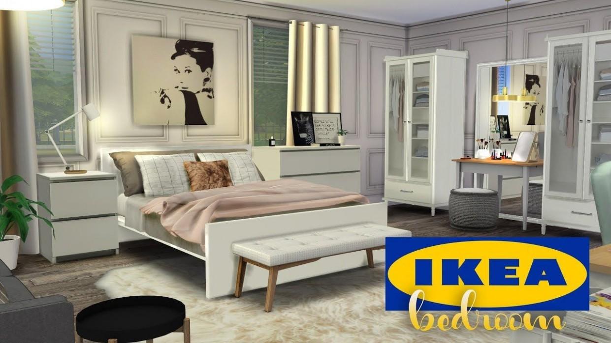 IKEA BEDROOM + CC  The Sims 11 Speed Room Build  Ikea bedroom  - Bedroom Ideas Sims 4