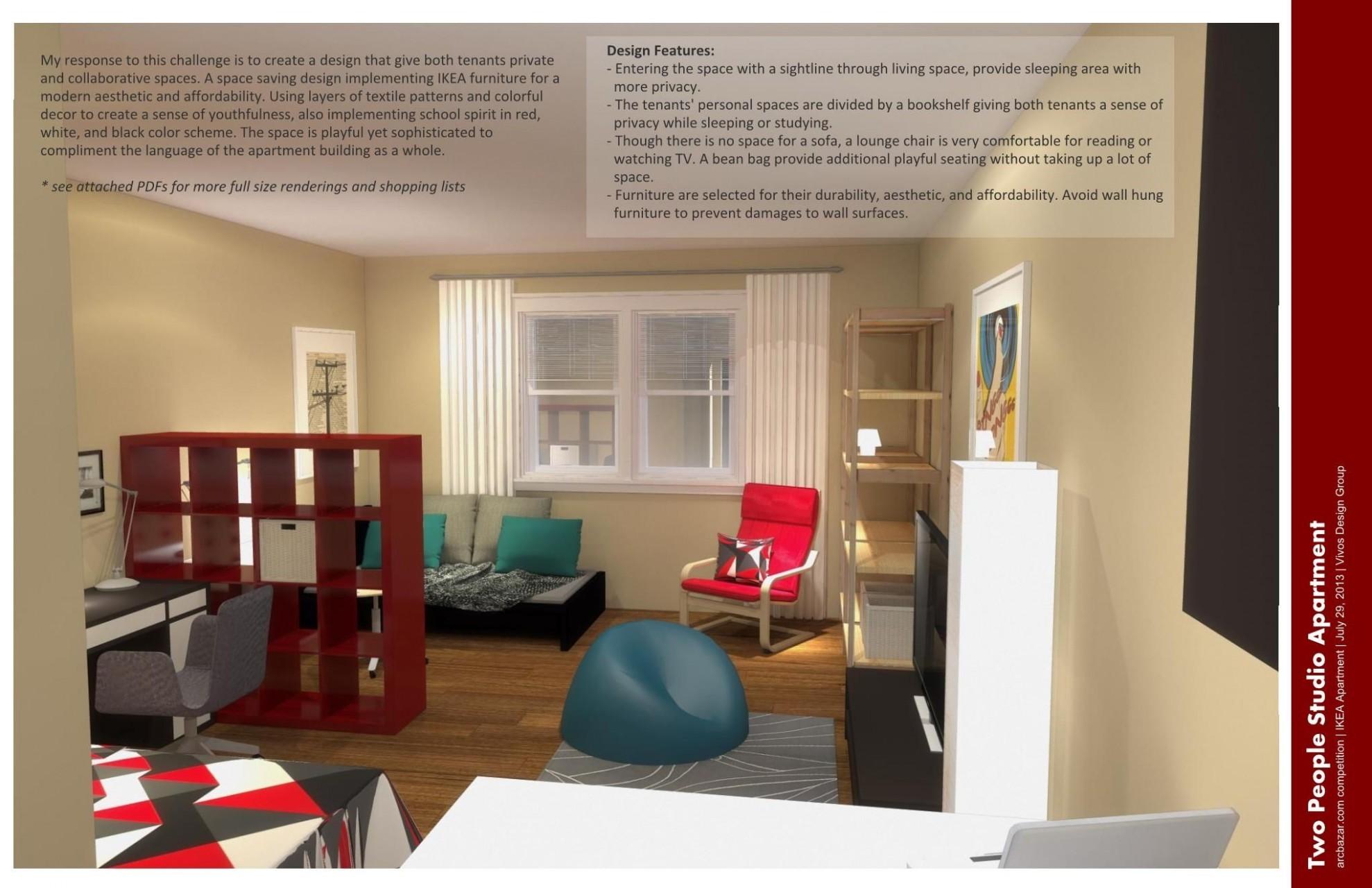 IKEA Studio Apartment Design Ideas  apartment bedroom : Small  - Apartment Decorating Ideas Ikea