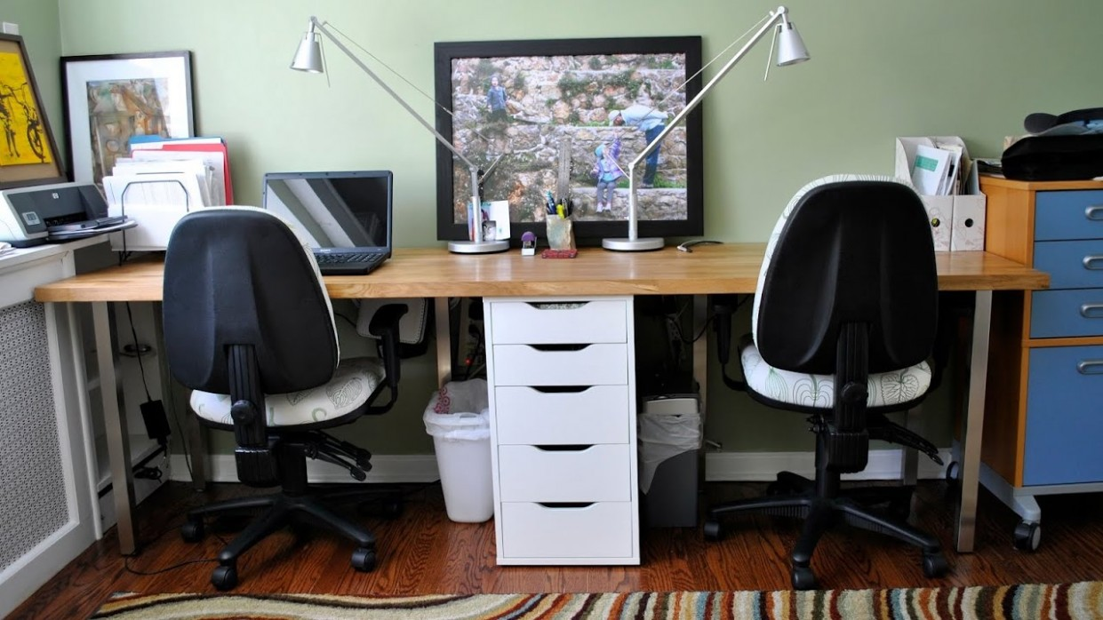 Images of 8 Person Desk For Home Office - Home Design Ideas - Home Office Ideas Youtube