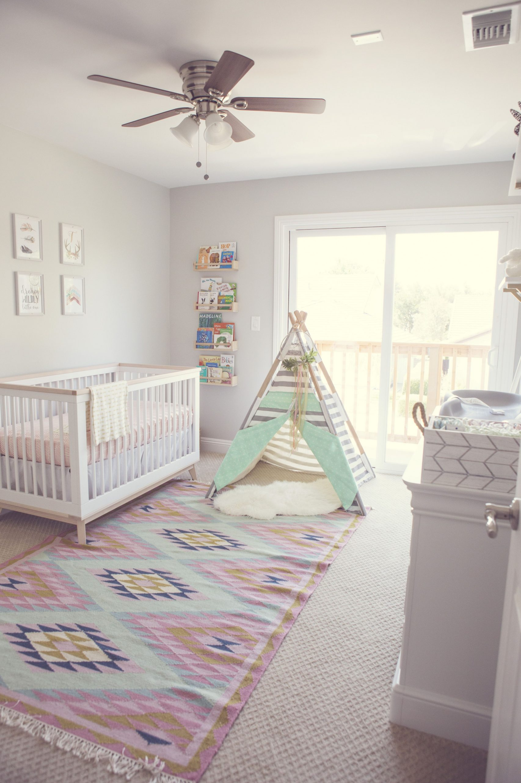 In the Nursery with Fantastically Fit - Project Nursery  Baby  - Baby Room Rugs