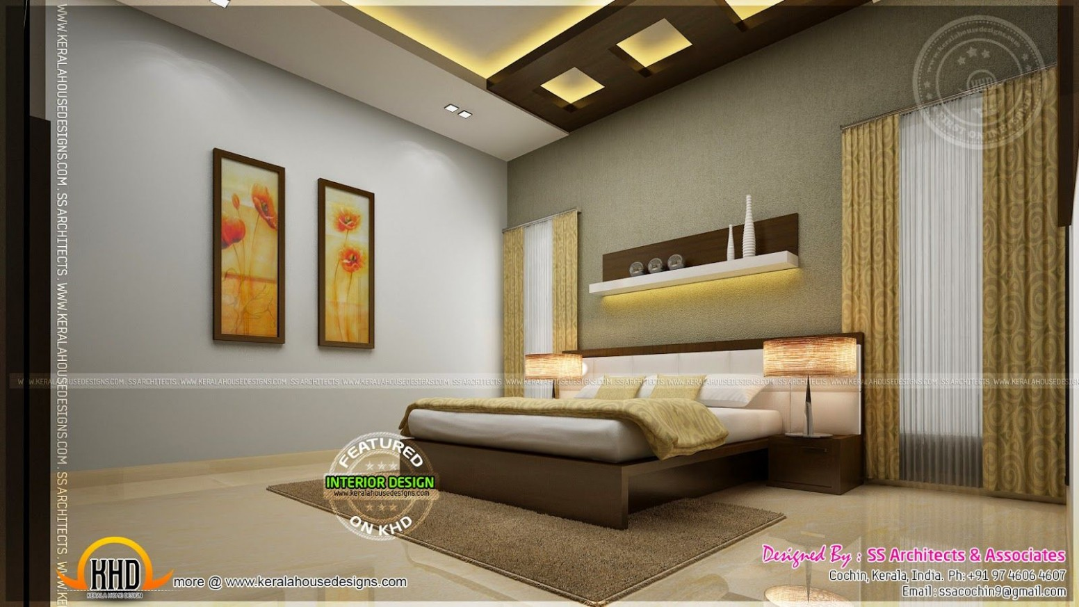 indian master bedroom interior design - Google Search  Master  - Bedroom Ideas India