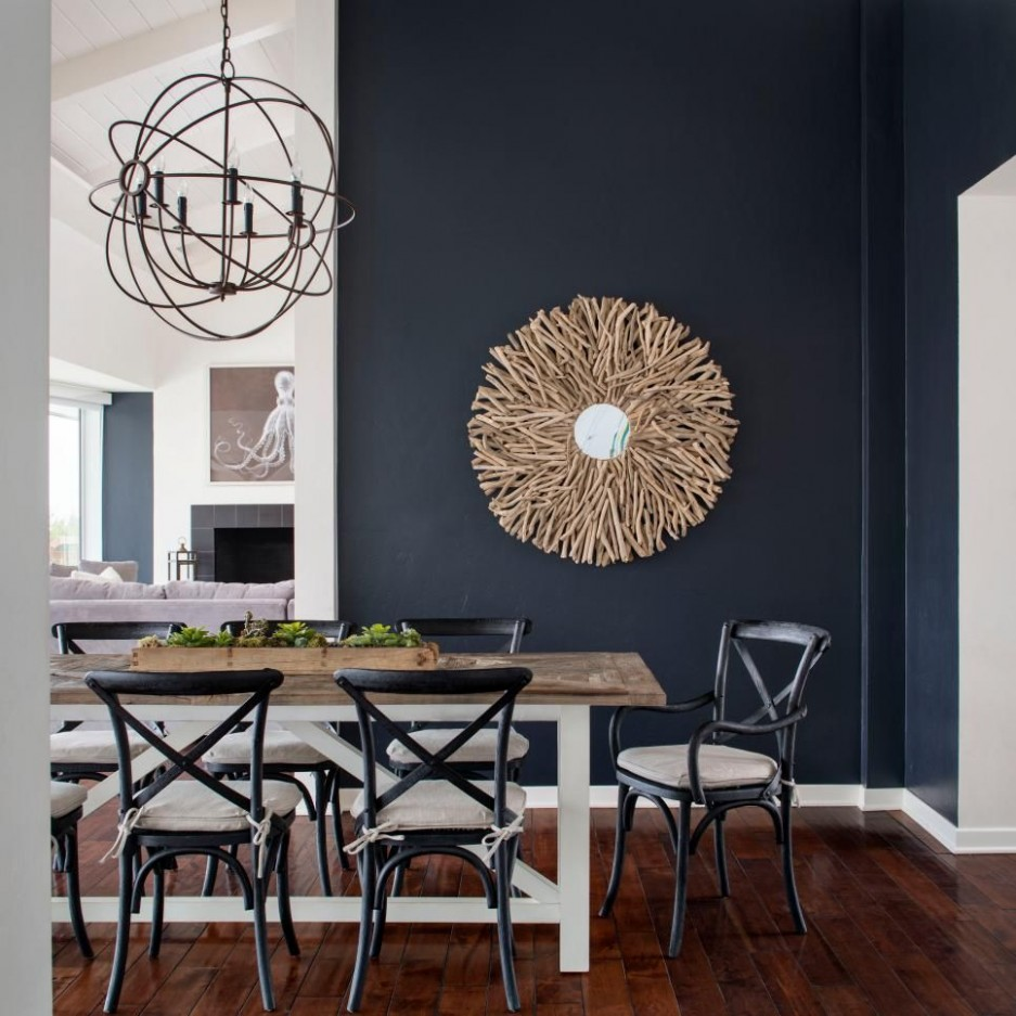 Indigo Color Palette - Indigo Color Schemes  Dining room blue  - Dining Room Ideas Blue Walls