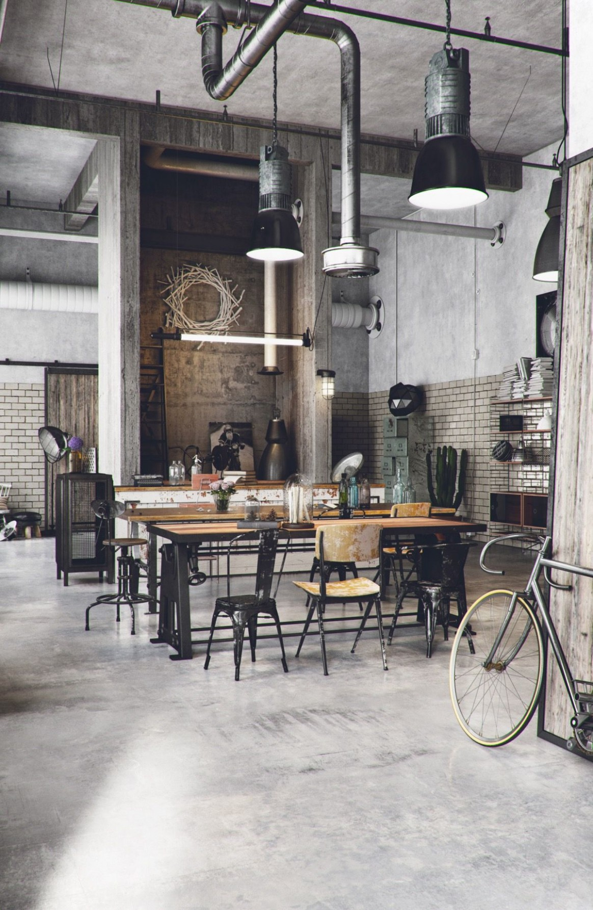 Industrial Style Dining Room Design: The Essential Guide  - Dining Room Ideas Industrial