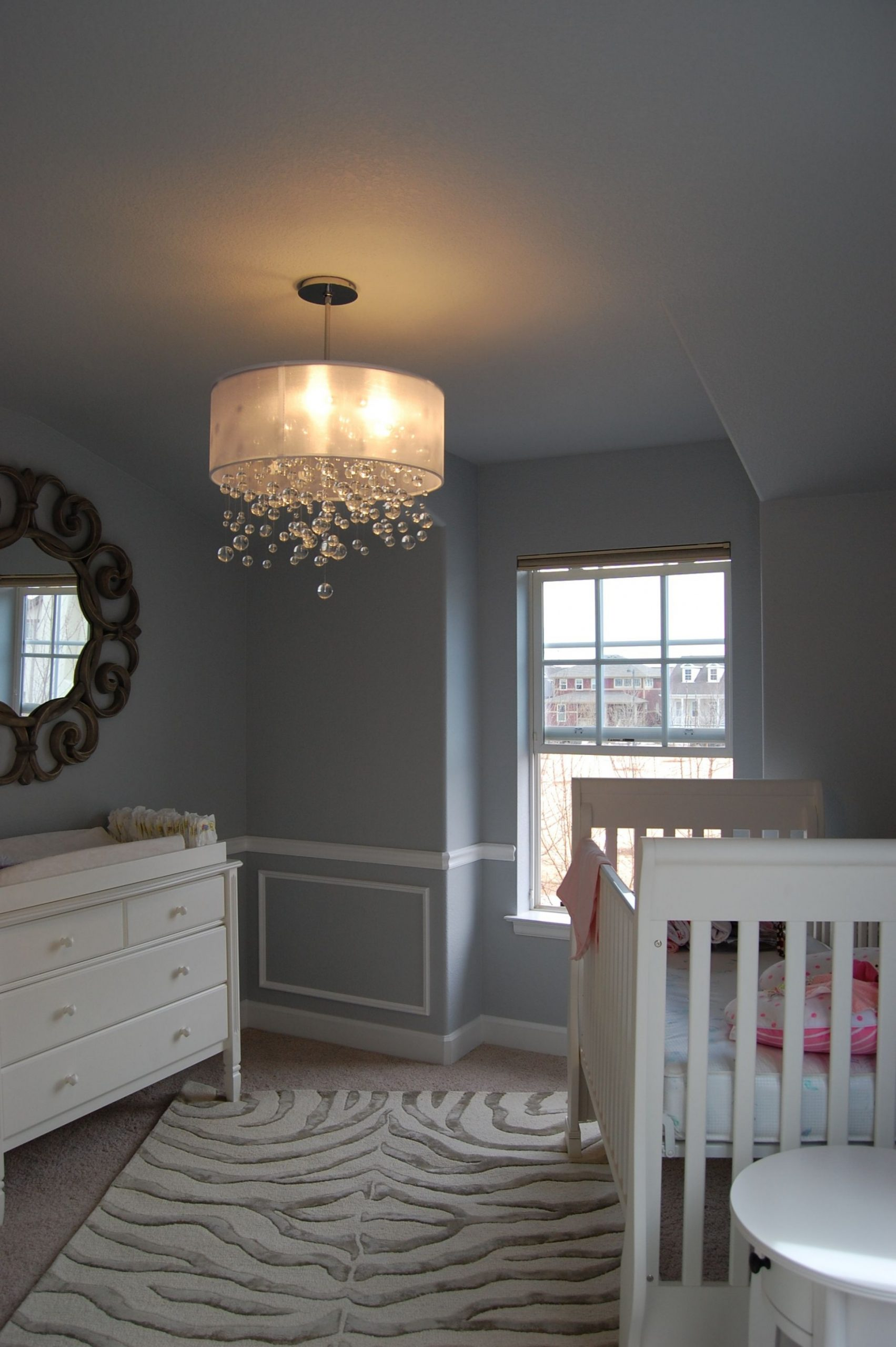 Inspiration Complete: Baby Girl Room - Grey & White