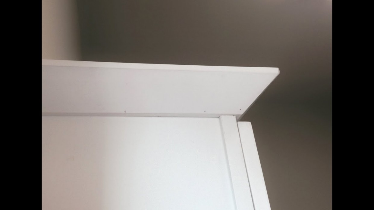 Installing Shaker Crown (Notching Cabinets) - How To Install 2 Piece Crown Molding On Kitchen Cabinets