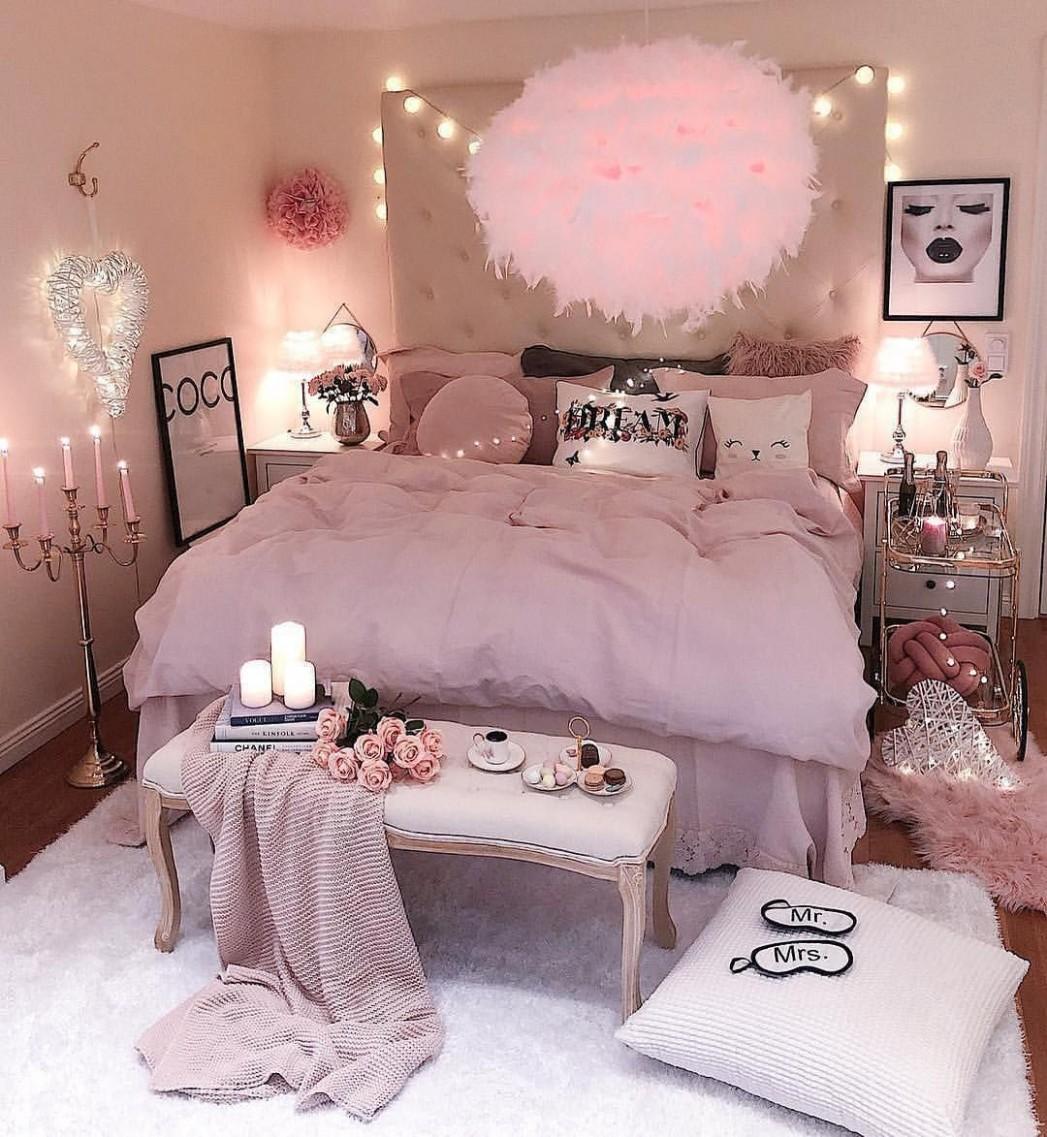 Interior & 📷 b  Pink living room, Pink bedroom decor, Pink  - Bedroom Ideas B&Q