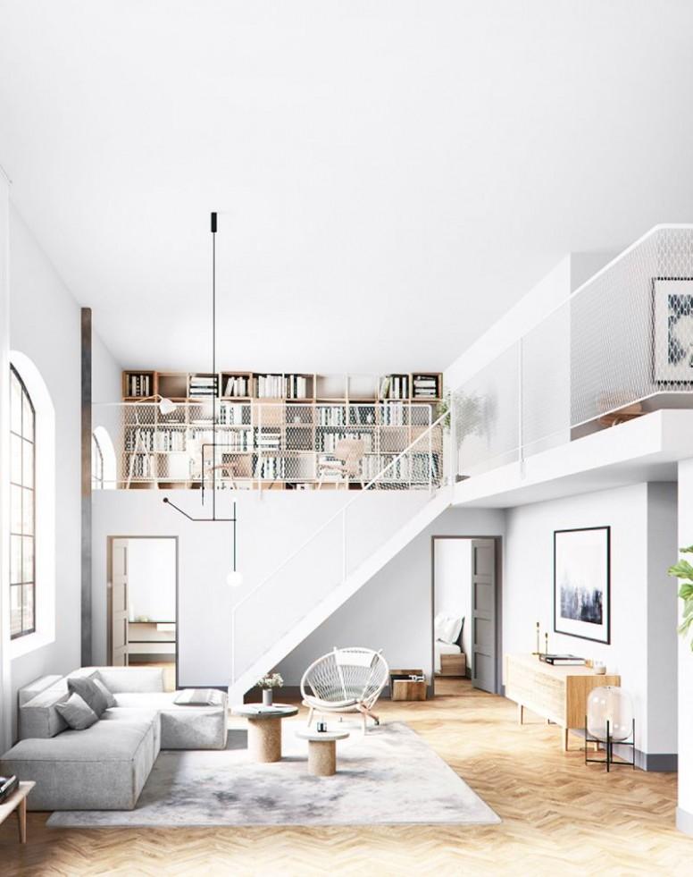 Interior Design  9 Dreamy Loft Apartments That Blew Up Pinterest  - Apartment Design With Loft