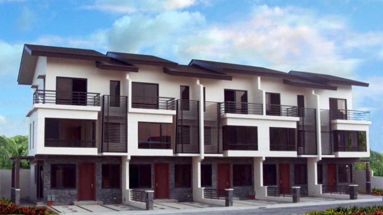 Interior Design Bungalow House Philippines  Row house design  - Apartment Design In Philippines
