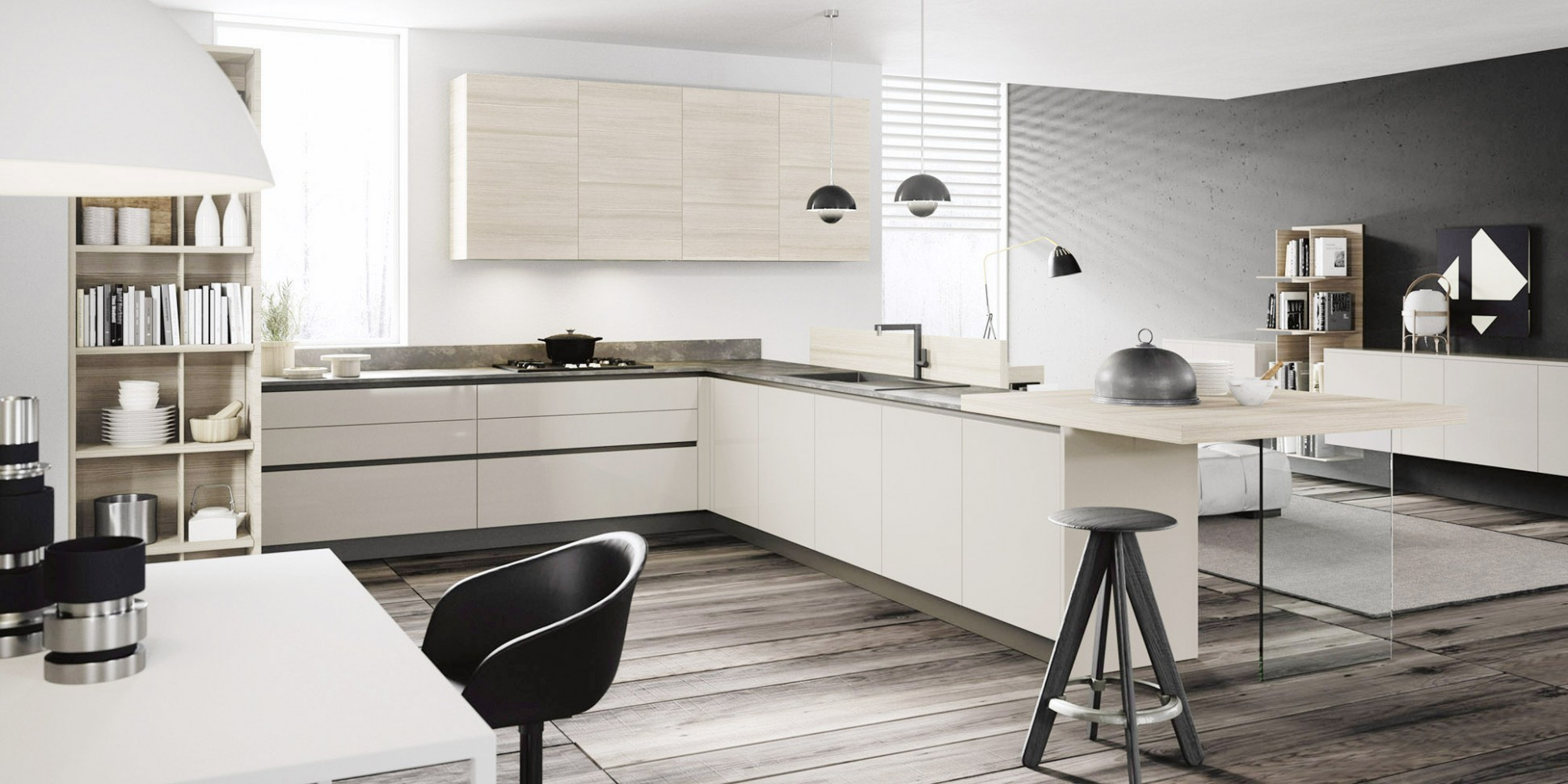 Italian Kitchen Designs Euromobil Copatlife Chicago Old Modern  - Italian Kitchen Cabinets In Chicago