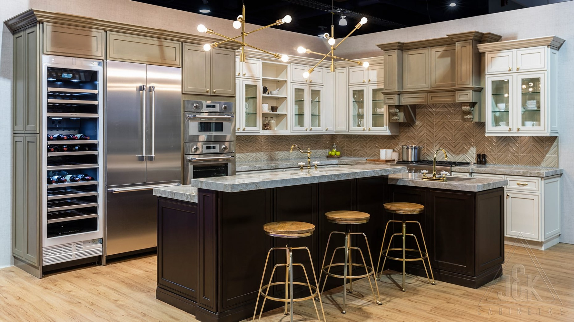 J&K Cabinetry  All-Wood Cabinets - Long Island Kitchen Cabinets Wholesale