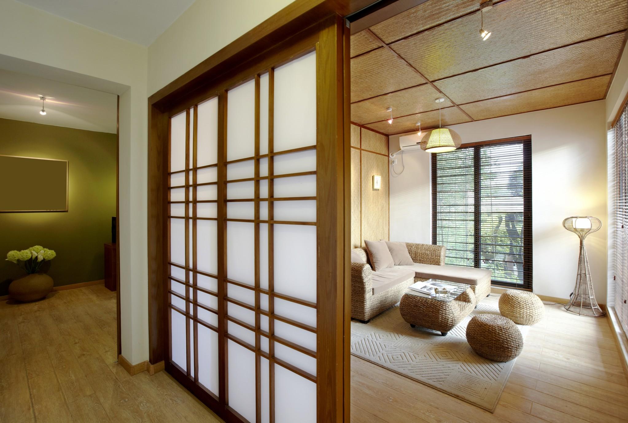 Japanese Apartment Design  LoveToKnow - Small Apartment Japanese Design