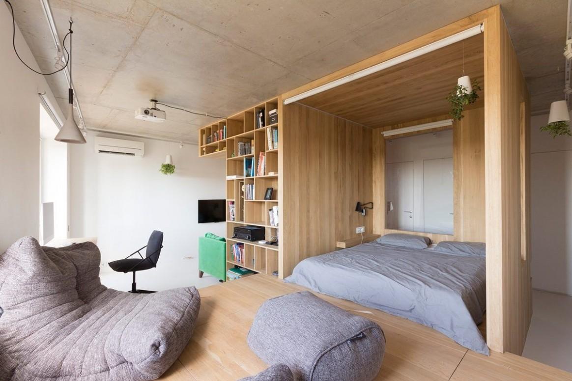 Japanese Studio Apartment #smallroomdesignstudioapt  Small  - Small Apartment Japanese Design