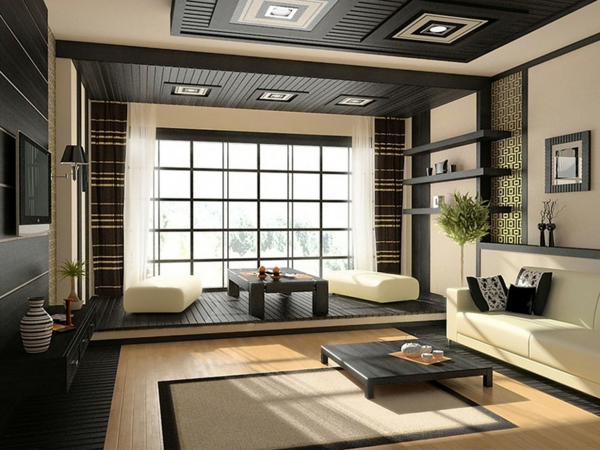japanese themed living room ideas  Modern japanese interior  - Apartment Design Japanese Style